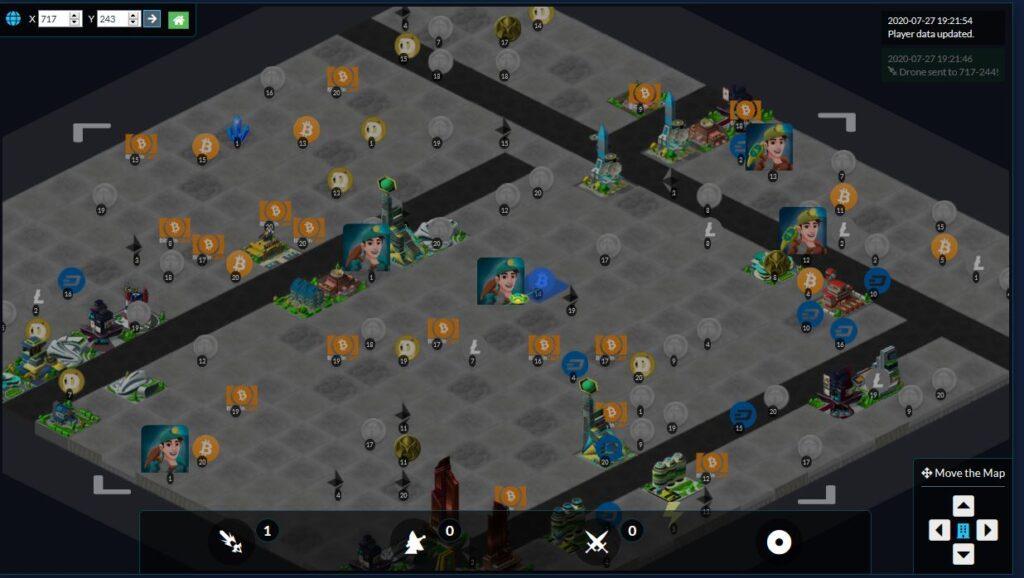 Crypto Mining Game